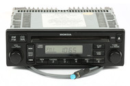 01-02 Honda Accord AMFM Radio Single CD w Bluetooth on Pigtail 39100-S82-A420-M1