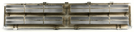 1986-1990 Dodge Pickup Ramcharger Silver and Grey Front Bumper Grille 4249802