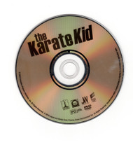 The Karate Kid DVD Movie Columbia Sony Rated PG Pictures Professionally Cleaned