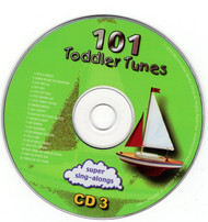 101 Toddler Tunes Disc 3 ONLY CD Professionally Cleaned Childrens