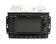 09-10 Dodge 3500 Jeep Compass Patriot AMFM 6 CD Navigation w Disc 05064184AF REC