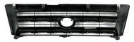 1997-00 Toyota Tacoma Single Grey Front Bumper Grille Base Model 1ABGR00308