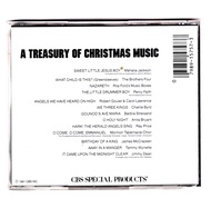 A Treasury of Christmas Music CBS Special Products CD Professionally Cleaned