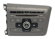 2012 Honda Civic AM FM CD Radio w XM & BT Code Included 2BC6 39100-TR0-A315-M1