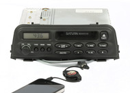 1996-99 Saturn S Series AM FM Cassette Radio Receiver with Aux Pigtail 21022997