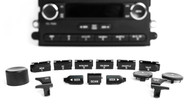 Replacement Radio Knob & Button Kit For 2006-13 Ford Mercury AM FM 6 Disc Radio