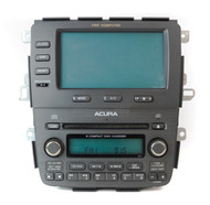 05-06 Acura MDX AM FM 6 Disc CD Player w Trip Computer Face 3TF7 39100-S3V-A250