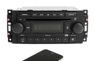 2004-2010 Jeep Dodge Chrysler AM FM CD Auxiliary Input Bluetooth REF P05064171AE