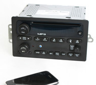 2005-12 Chevrolet GMC Buick AM FM CD Player Radio w Bluetooth Upgrade 15216905