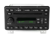 05 Ford Mercury AM FM Stereo 6 CD Player Radio w Auxiliary Input 5L2T-18C815-DC