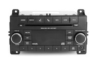 2013 Jeep Grand Cherokee OEM AM FM Receiver MP3 Cd Player w Aux P05091193AB RES