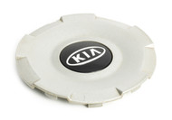 2002-04 Kia Spectra Single Silver Wheel Rim Center Cap OEM Original 0K2NA37190
