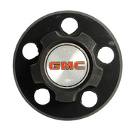 1985-95 GMC Safari Black Single OEM Original Rally Wheel Rim Center Cap 15594373