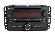 2007 Saturn Outlook OEM AM FM Radio MP3 DVD CD Player Auxiliary Input 25802327