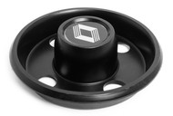 1983 - 1987 Renault Alliance Encore Single Black Wheel Rim Center Cap 1823051