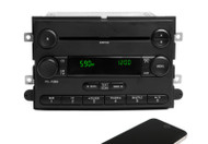07-08 Ford Mustang OEM AM FM CD Player Radio w Bluetooth Upgrade 17R3T-18C869-MC