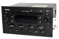 Saturn Ion Vue 2004-05 Radio AM FM 6 Disc CD Player w Auxiliary Input 22727871