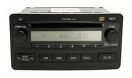 Toyota 2003-2006 Tundra AM FM Receiver with Single Disc CD Player 86120-0C100