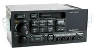 1995-2002 Chevrolet GMC Car AM FM Cassette Player w Auxiliary Input on Face