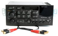 1995-2002 Chevrolet Isuzu GMC Car Stereo AM FM Cassette Player w Aux RCA Output