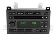 2005 Lincoln Town Car Stereo AM FM Radio CD w Auxiliary Input 5W1T-18C815-AF
