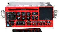 1995-02 GMC Isuzu Chevy Car AM FM CD Player with Bluetooth Red Version 09380151