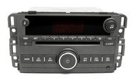 07-08 Pontiac Torrent AM FM Stereo CD Player w Auxiliary Input on Face 22736966