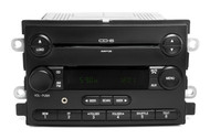 07 Ford Five Hundred AMFM 6 Disc Mp3 CD Radio w Auxiliary Upgrade 7G1T-18C815-BA