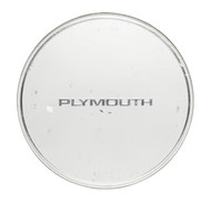 1989-1990 Plymouth Voyager OEM Original Single Silver Wheel Cover Hubcap 5700470
