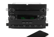 05-06 Ford F150 AM FM Radio w CD Player Radio w Bluetooth Upgrade 6L3T-18C869-AD