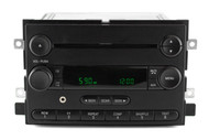 05-06 Ford F150 AM FM Radio Single Disc CD Player with Aux Input 6L3T-18C869-AD