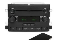 05-06 Ford F150 Pickup AM FM Radio CD Player w Bluetooth Upgrade 6L3T-18C869-AC