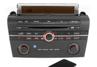 2005 Mazda 3 AM FM Single Disc CD Player with Bluetooth Music Upgrade BN8M669RX