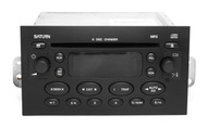 Saturn 2005 Ion Vue AM FM Receiver with Six Disc CD Player and mp3 21994365