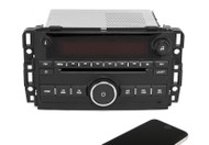 Saturn 2009 Outlook AM FM CD MP3 Aux Input Radio with Bluetooth Upgrade 25941140