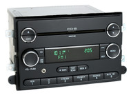 06-09 Mercury Milan Ford Fusion Radio AM FM 6 Disc CD w Aux Input 9E51-18C815-AA