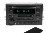 Hyundai 2004-2005 XG350 AM FM CD Cassette Radio w Bluetooth Upgrade 96140-39102