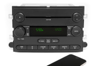 06-07 Ford Explorer Mercury Mountaineer Radio w Bluetooth Upgrade 6L2T-18C869-AK