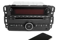 09 Pontiac Torrent AMFM CD Player Radio w Aux Input & Bluetooth Upgrade 20766795