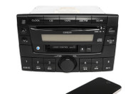 Mazda 2000-01 MPV AM FM Cassette CD Radio w Bluetooth LC77669T0B Face Code 1284