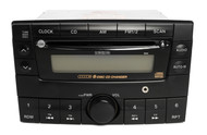 Mazda 2000-2001 MPV AM FM 6 CD Player with Auxiliary Input Upgrade LC72669RXC
