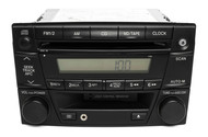 02-03 Mazda MPV AM FM CD Cassette Radio w Aux Upgrade LD52669T0A Face Code 1168