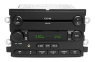 06 Ford Freestyle AM FM 6 Disc CD Player Radio w Auxiliary Input 6F9T-18C815-AB