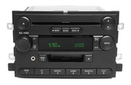 04-06 Ford Mustang AM FM CD Cassette Radio w Auxiliary Input OEM 5L3T-18C868-AC