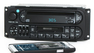 Dodge Chrysler Jeep 98-02 AM FM CD Cassette Bluetooth Music P04858540 Twin 7 RAZ