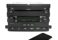 06-07 Ford Freestyle Mercury Monterey AMFM 6CD Radio w Bluetooth 6F2T-18C815-FA