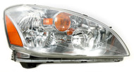 Halogen Right Headlight Lamp w Bulbs Fits 2002-04 Nissan Altima 2601032825