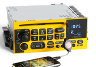 Chevy 1995-05 Van Truck Radio AM FM CD Player w Aux Input in Face - Yellow Black