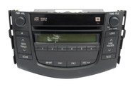2007-2008 Toyota RAV4 AM FM Radio MP3 Single CD Player 86120-42182 Face 11836