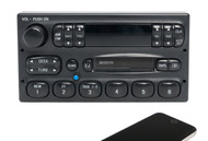 95-97 Ford Mercury Mazda AM FM Radio Cassette Player w Bluetooth F57F-19B165-CG